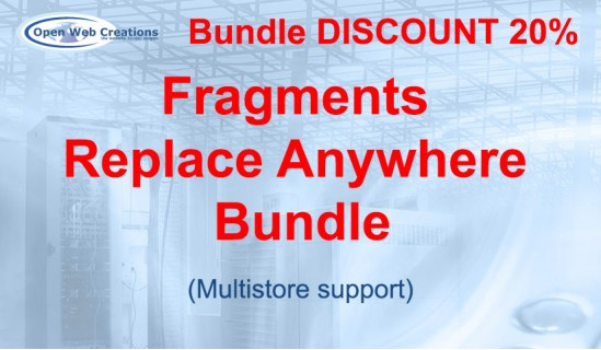 Fragments Replace Anywhere Bundle image