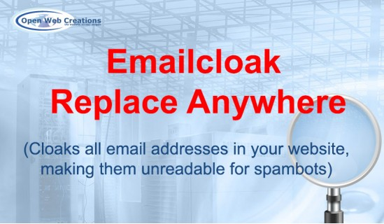 Emailcloak Replace Anywhere image