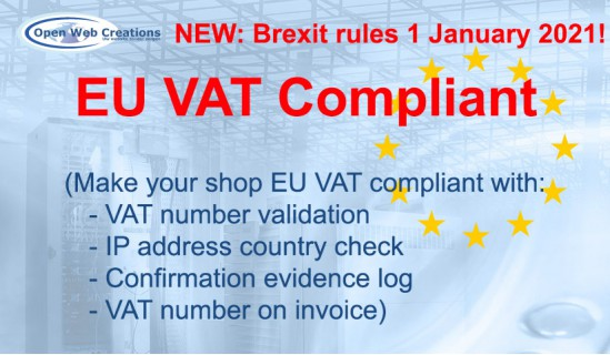 EU VAT Compliant