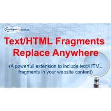 Text/HTML Fragments Replace Anywhere